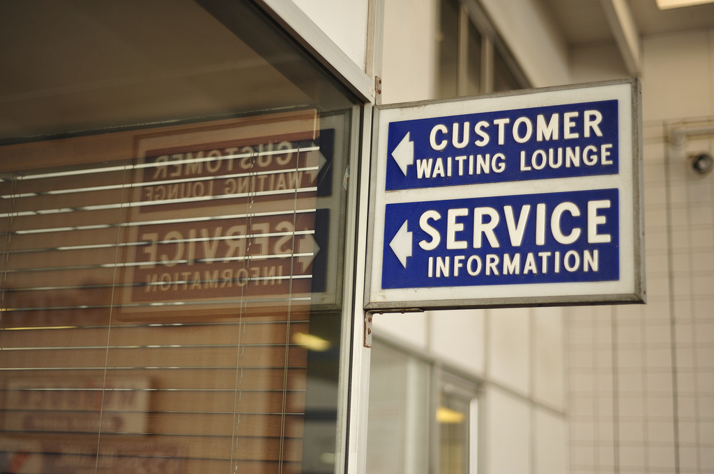 Waiting Lounge Information